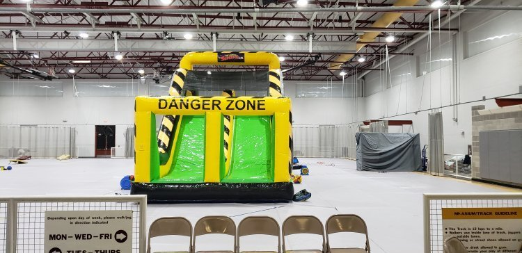Danger Zone Giant Slide