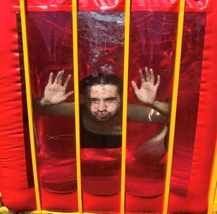 Carnival Midway Dunk Tank