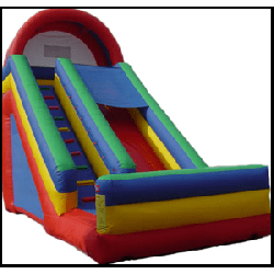 Giant Slide 20 Feet Tall BA