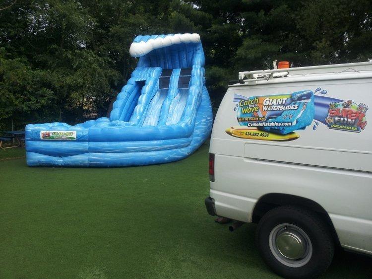 Monster Wave Pool Splashdown #sn 8921, 14918