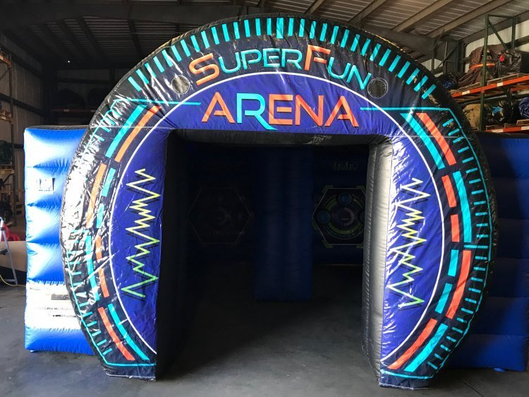 SuperFun Warp Speed Arena